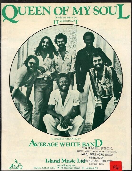 4 | Queen of My Soul - Average White Band