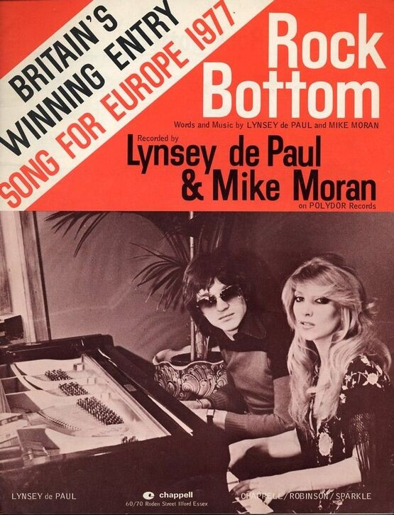 4 | Rock Bottom - Winning song for Europe 1977 - Featuring Lynsey de Paul & Mike Moran