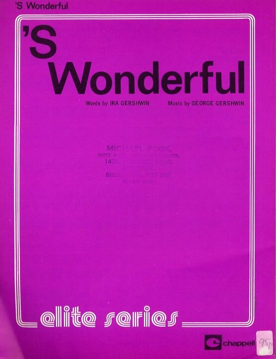 4 | S Wonderful - From