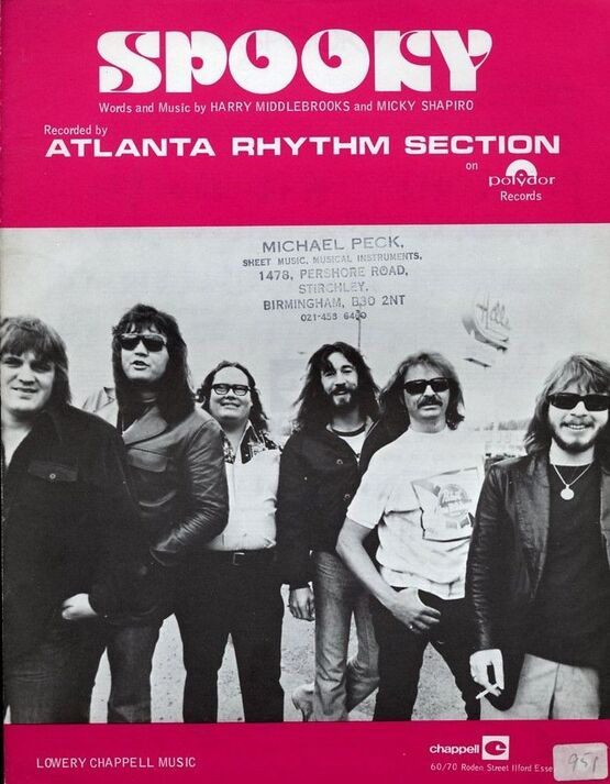 4 | Spooky. Atlanta Rhythm Section