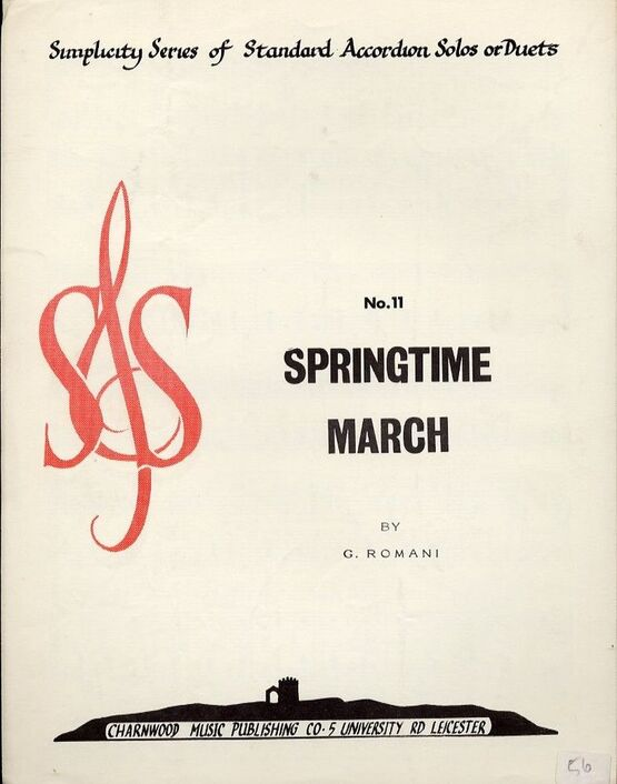 4 | Springtime March for Accordion