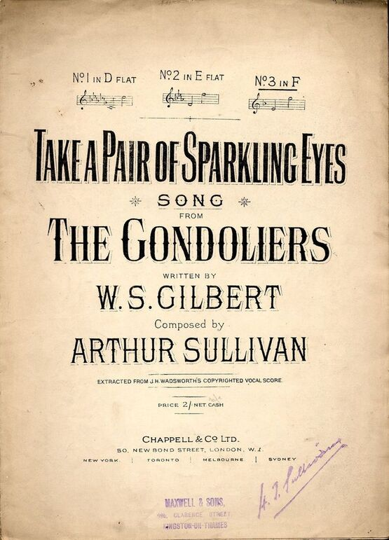 4 | Take a Pair of sparkling Eyes, from