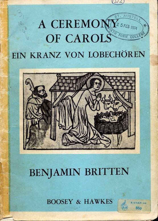 4110 | A Ceremony of Carols - Ein Kranz von Lobechoren - For Treble Voices and Harp