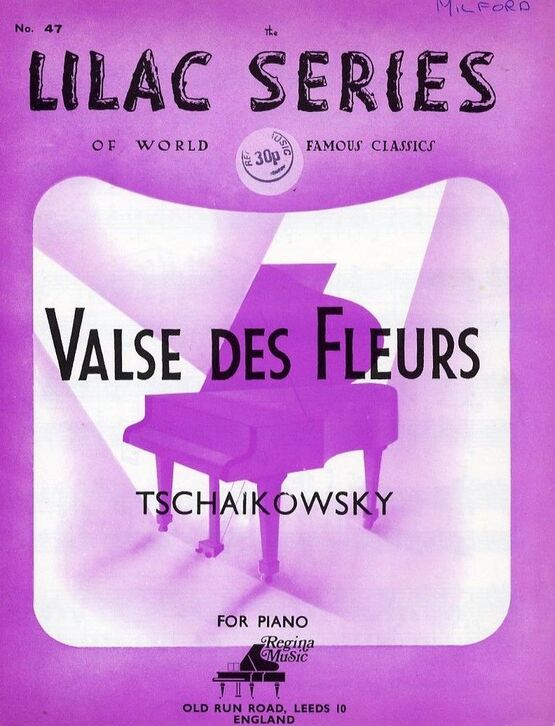 4130 | Valse des Fleurs - For Piano - No. 47 of the Lilac Series of world famous classics