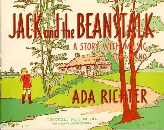 444 | Jack and the Beanstalk - A Story with Music - For Piano