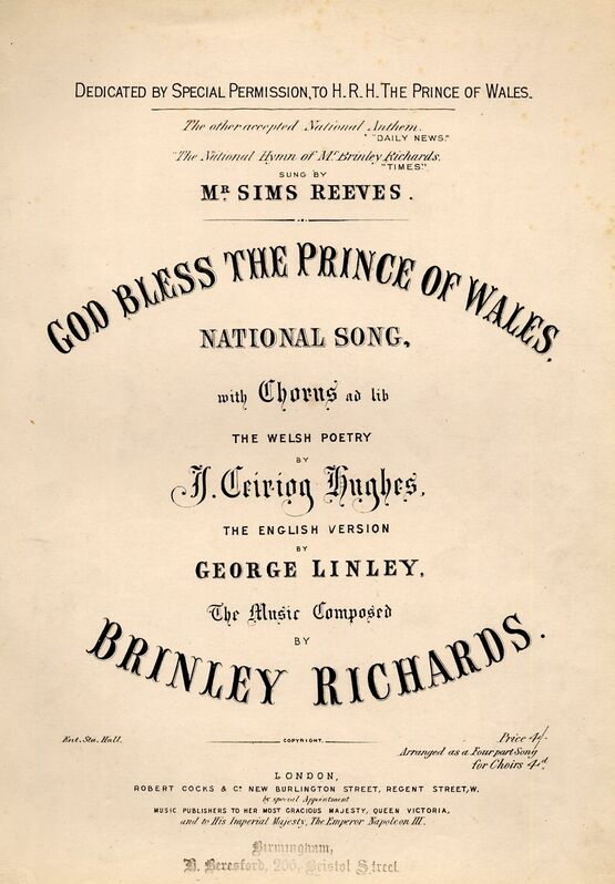 4469 | God Bless The Prince of Wales - Song
