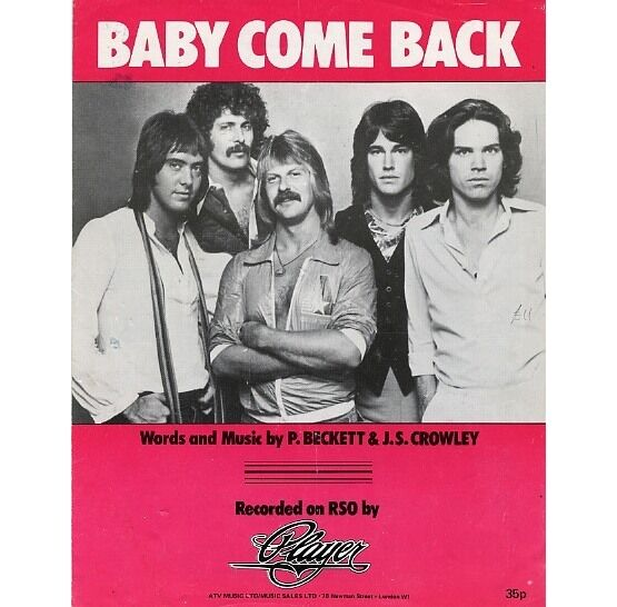 4481 | Baby Come Back - Featuring Player