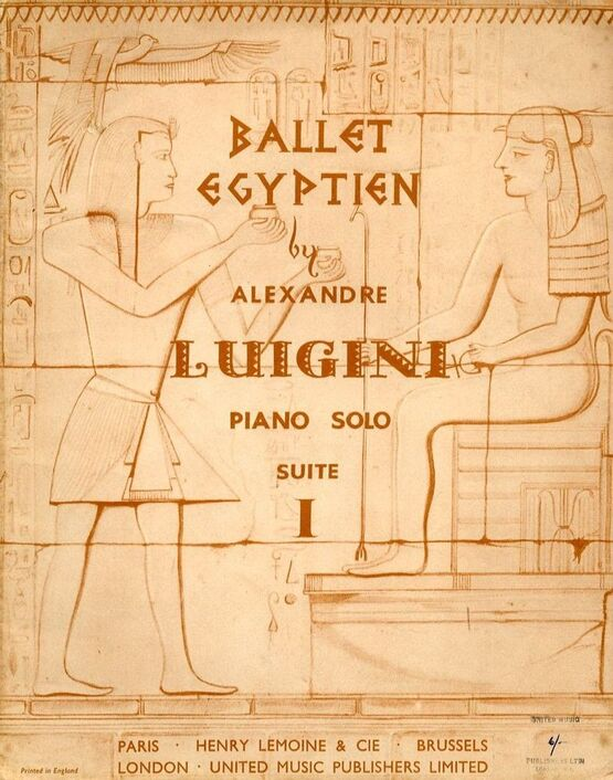 4505 | Ballet Egyptien - For Piano Solo - Suite I