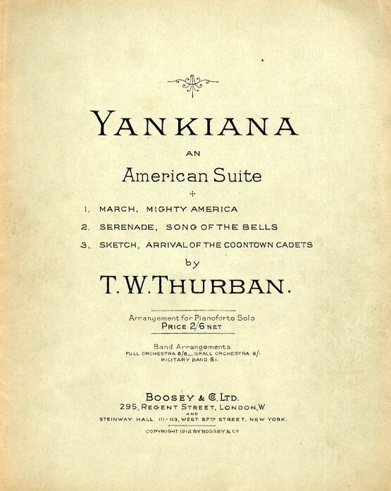 4573 | Yankiana - An American Suite for Piano