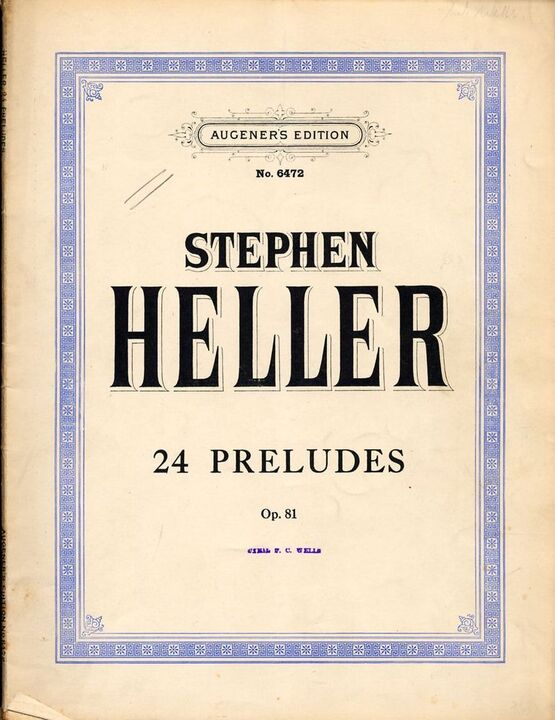 4696 | 24 Preludes - Op. 81 - Augeners Edition No. 6472