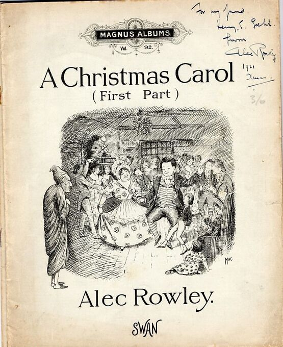 4771 | A Christmas Carol (First and Second Parts) - Magnus Albums Vol. No. 92 and Vol. 93