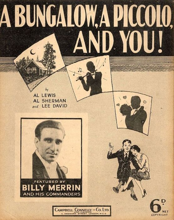 4856 | A Bungalow, A Piccolo and You - Billy Merrin