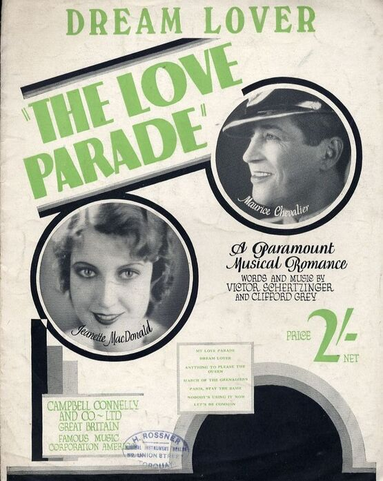 4856 | Dream Lover - As performed by Jeanette MacDonald, Maurice Chevalier in