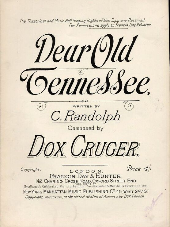 4861 | Dear Old Tennessee