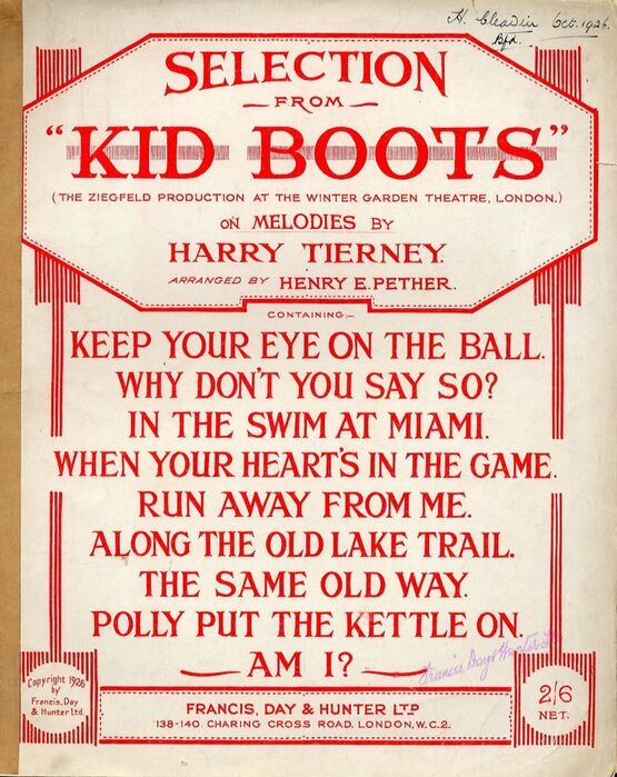 4861 | Kid Boots - Selection - For Piano Solo