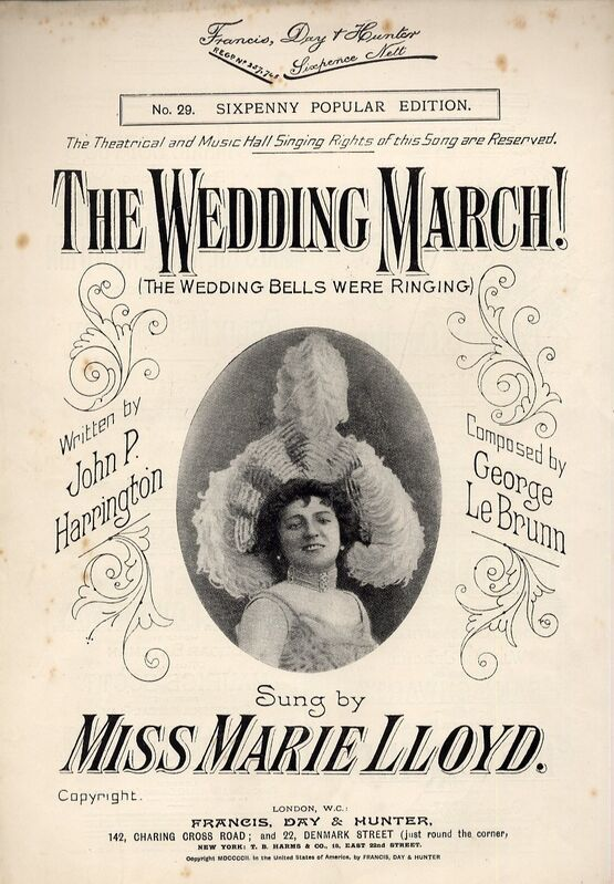 4861 | The Wedding March (The Wedding Bells were Ringing) - Song sung by Miss Marie Lloyd