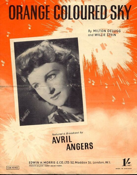 4867 | Orange Coloured Sky - As performed by Gracie Fields, Avril Angers