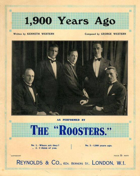 4905 | 1,900 Years Ago - as Performed by The Roosters