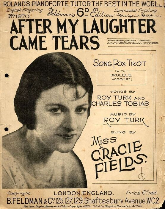 5047 | After My Laughter Came Tears - Featuring Gracie Fields