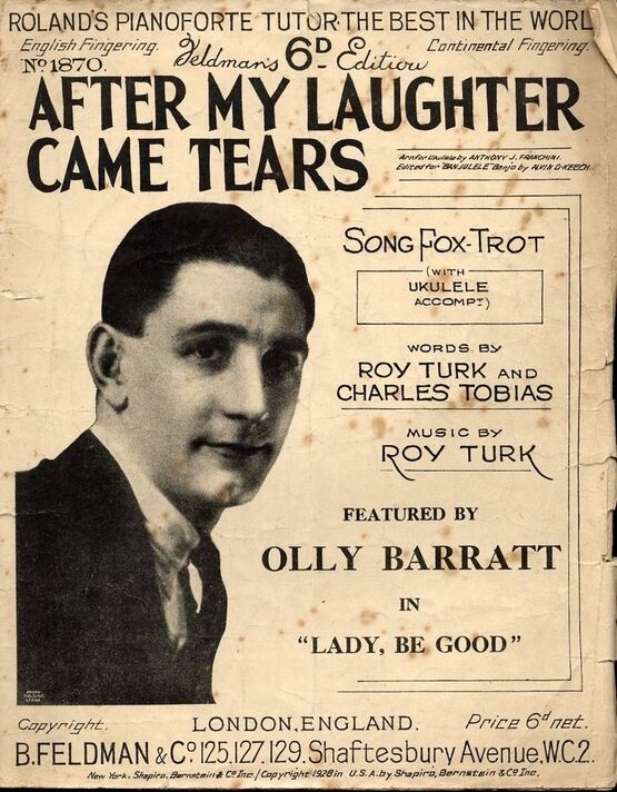 5047 | After My Laughter Came Tears - Featuring Olly Barratt