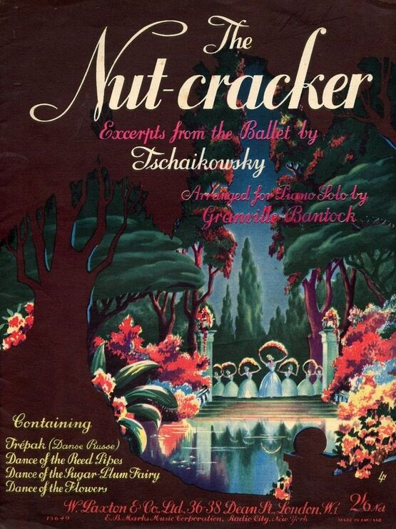 5086 | The Nutcracker - Excerpts from the Ballet arranged for Piano Solo