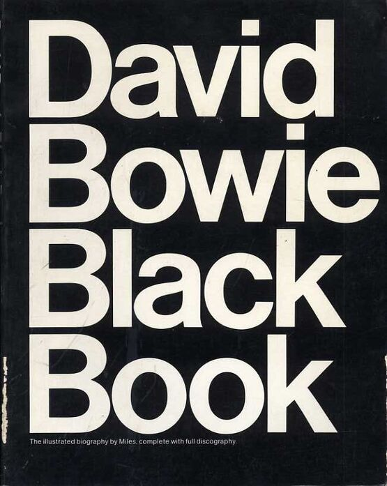 509 | David Bowie - Black Book - The Illustrated Biography, with Full Discography