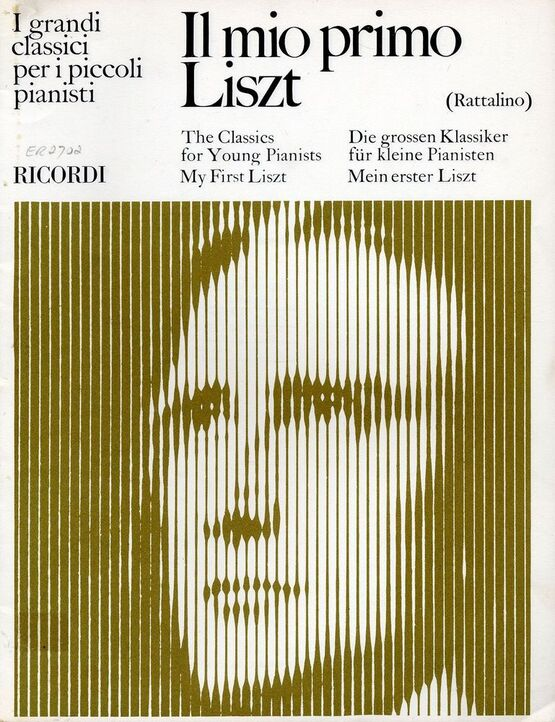 5480 | Il Mio Primo Liszt - The Classics for Young Pianists - My First Liszt
