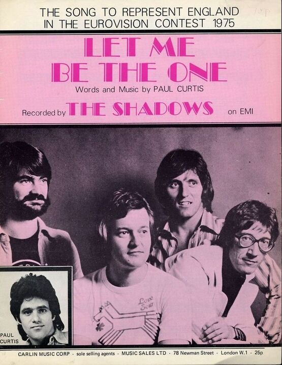 5831 | Let Me Be The One - 1975 Eurovision Song Entry - The Shadows