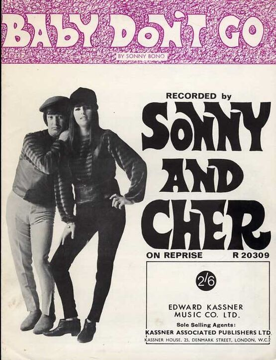 5842 | Baby Don't go - Featuring Sonny and Cher - Song