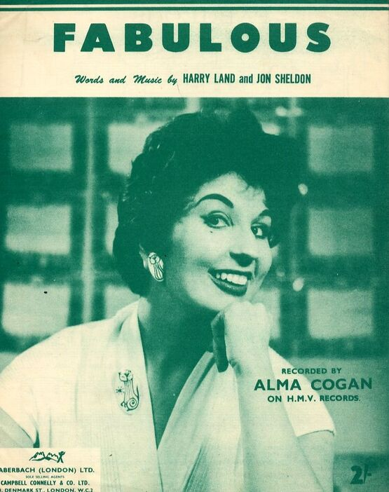 5872 | Fabulous - Song - Featuring Alma Cogan
