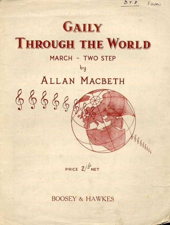 6105 | Gaily Through the World - March two step
