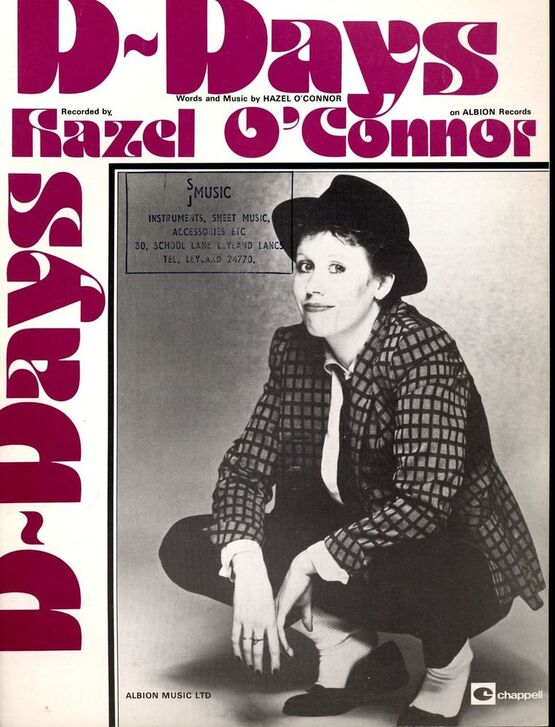 6142 | D Days - Featuring Hazel O'Connor