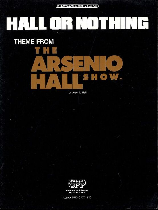 6229 | Hall or Nothing (Theme From