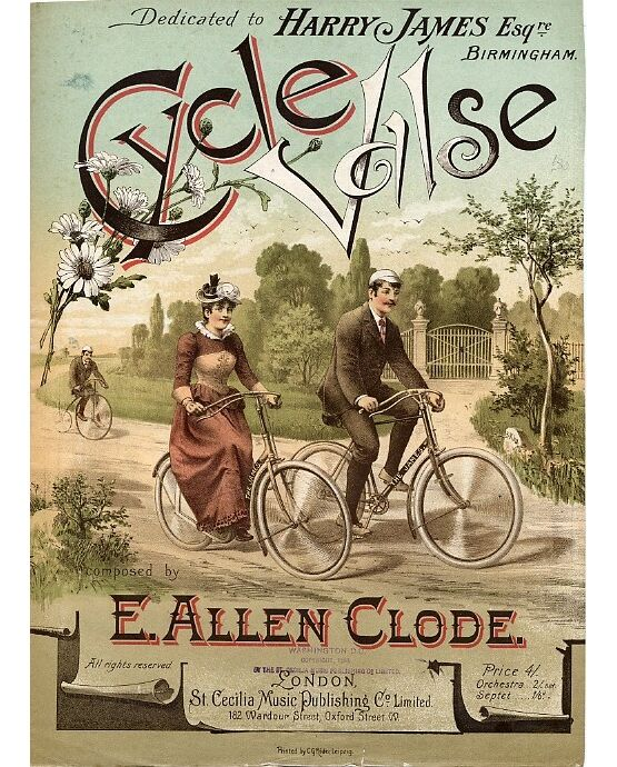 6248 | Cycle - Valse piano solo dedicated to Harry James Esquire, Birmingham