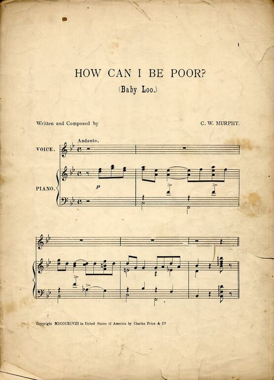 6252 | Baby Loo (How Can I Be Poor?) - Song