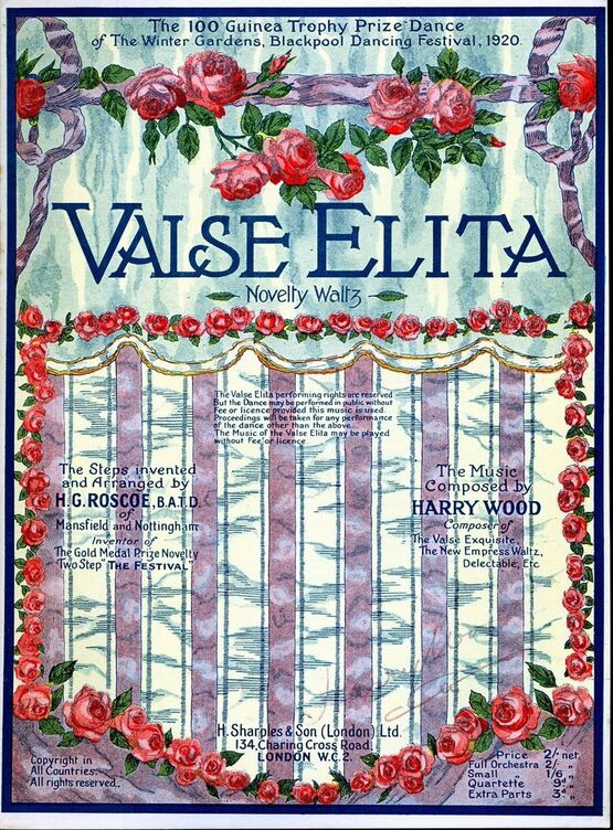 6270 | Valse Elita, novelty waltz