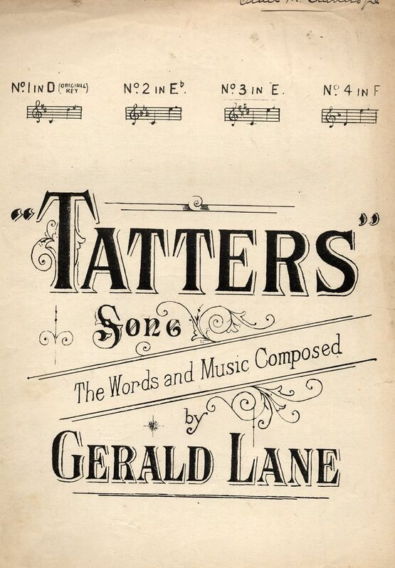 6379 | Tatters - Song - In the key E flat major