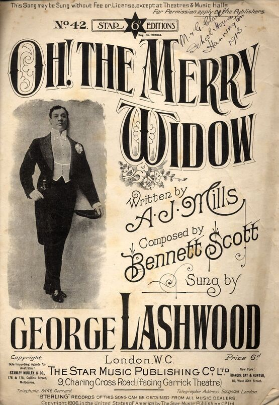 6544 | Oh! the Merry Widow - Song Featuring George Lashwood