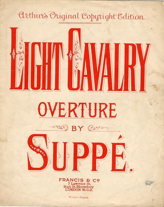 66 | Light Cavalry for Piano solo