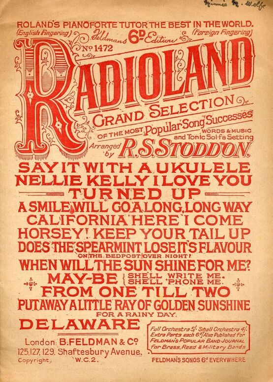 6630 | Radioland - Grand selection of the most popular song successes