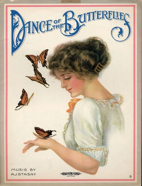 6633 | Dance of the Butterflies - Library Edition - For Piano Solo