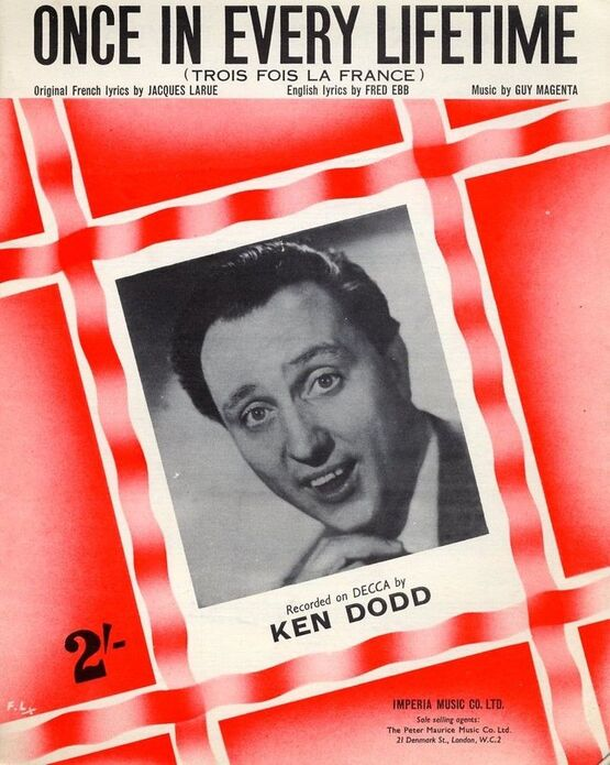6664 | Once in every lifetime (Trois Fois La France) featuring Ken Dodd
