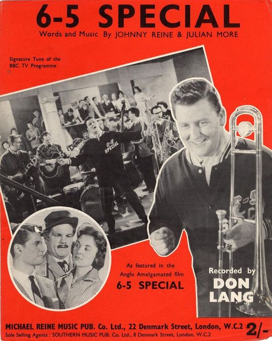 6716 | 6-5 Special - Signature Tune of the BBC TV Programme - A Featured in the Anglo Amalgamated film 6-5 Special - Recorded by Don Lang