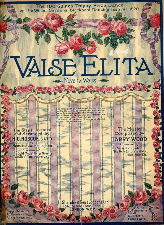 6818 | Valse Elita -  with dance instructions