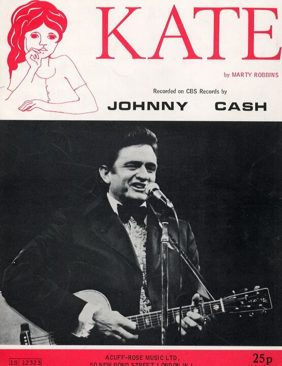 6835 | Kate - Song - Featuring Johnny Cash