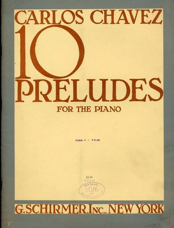6953 | 10 Preludes for the Piano