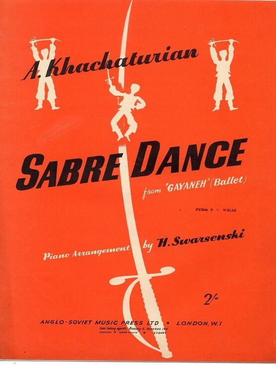 7073 | Sabre Dance - From Gayaneh (Ballet)