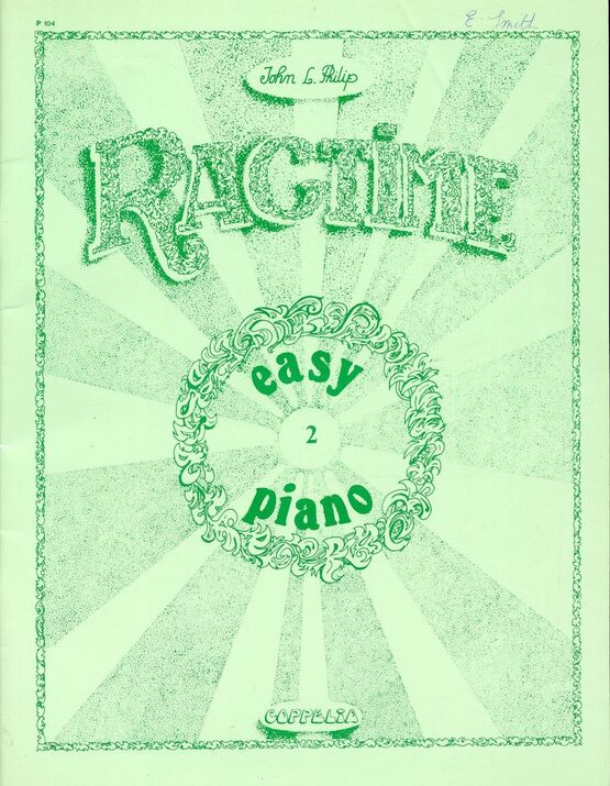 7570 | Ragtime - Easy Piano - Volume 2