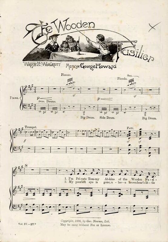 The Wooden Fusilier - Song from The Strand Musical Magazine