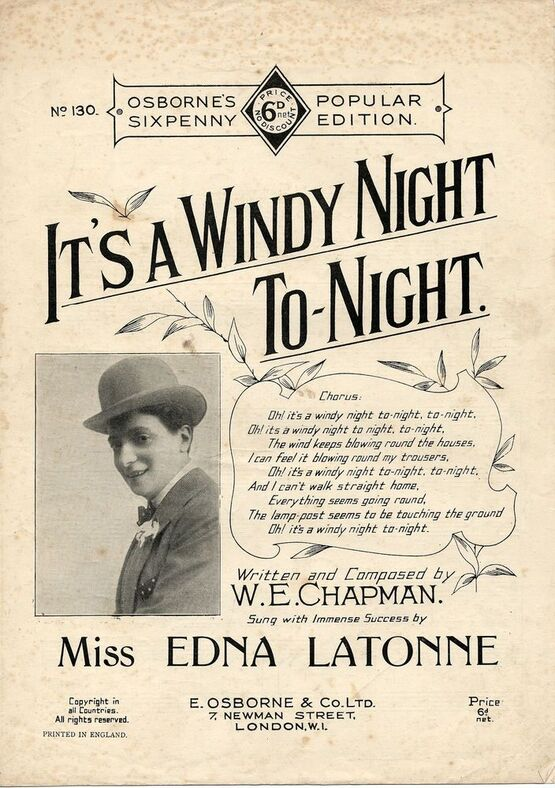 7759 | It's A Windy Night Tonight -  J H Wakefield in